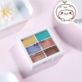 🎄✨INSTOCK!NYX Color Correcting Concealer Palette