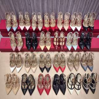 Valentino Rockstud Heels 3 inches