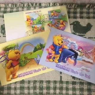絕版!卡通明星郵票-小熊維尼Winnie the Pooh