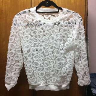 $10 白色上衣