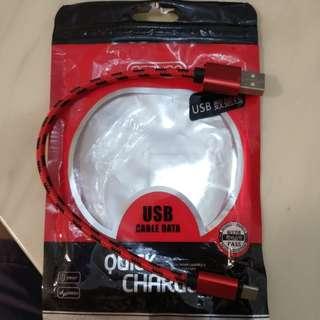 全新。type C USB 短線