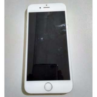 iPhone 6 64 GB Silver Original, Lock iCloud, Unit Only