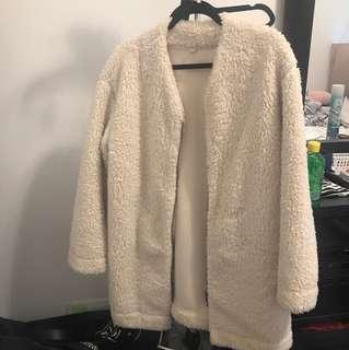 Women's Sherpa Teddy Bear Jacket from Uniqlo - Size M