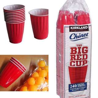 BIG RED CUPS 🍻