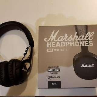 Authentic Marshall mid Bluetooth