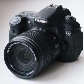 RENTAL Canon EOS 60D