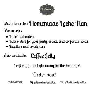 Homemade Leche Flan