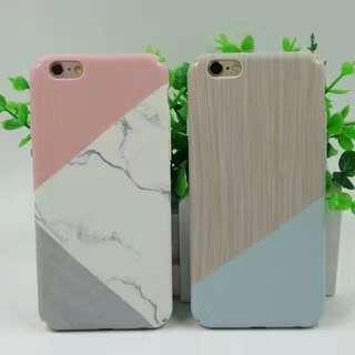 拼色大理石手機殼iphone case