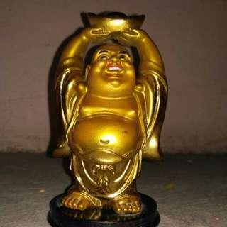 Hand made Good luck laughing Buddha.