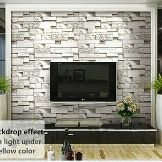 This Big Feature Wall at Just $50 ONLY!!!☺