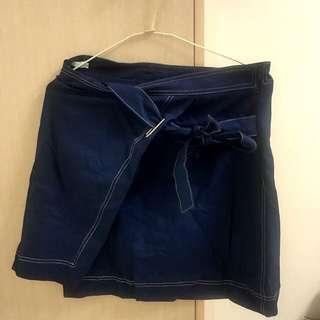 PSGB牛仔修飾短裙