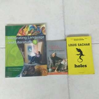 Sec One and Sec Two Literature books