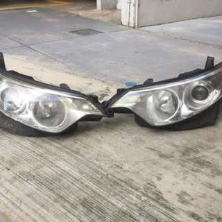 Toyota Estima. ACR50 Headlight without bulb