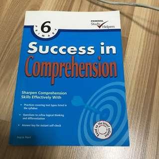 English comprehension practice book