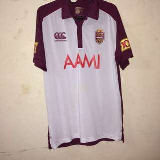 Rugby Jersey T-Shirt. Queensland Maroons