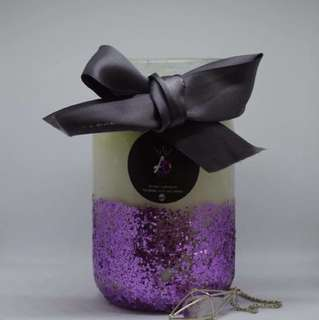Handmade Christmas Scented Candle
