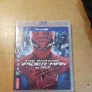 🚚 【漫威】蜘蛛人 驚奇再起 3D藍光DVD