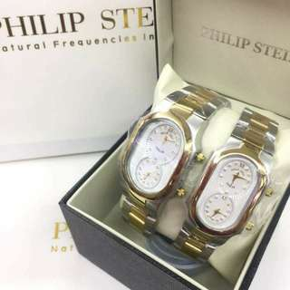 Philip Stein couple watch