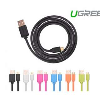 UGREEN Micro USB Male to USB Male cable Gold-Plated 1M White (10848) SKU: V28-ACBUGN10848