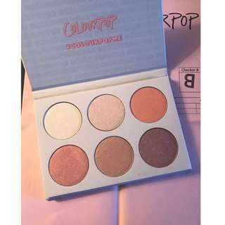 COLOUR POP Gimme More! Highlighter Palette BRAND NEW & AUTHENTIC (NO OFFERS)