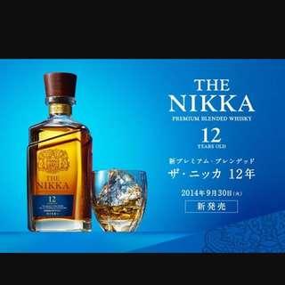The Nikka 12年 whisky