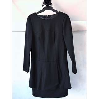 ❤️ SALE ❤️ Nine West Black Long Sleeve Dress