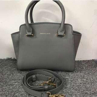 Charles & keith handbag (authentic )