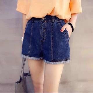 (sold) [BNWT] Denim High Waist Shorts