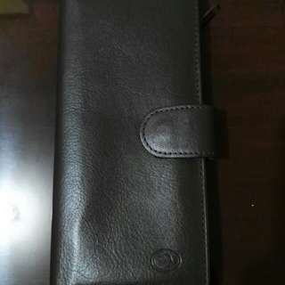 McJim Leather Wallet 7x3.5 in