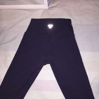 TNA thick navy leggings