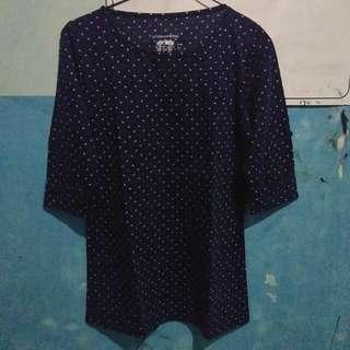 Kaos Phenomenal || blue navy || size M