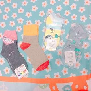 🚚 免運 現貨出清 韓國 日本 可愛襪~ #我的女裝可超取