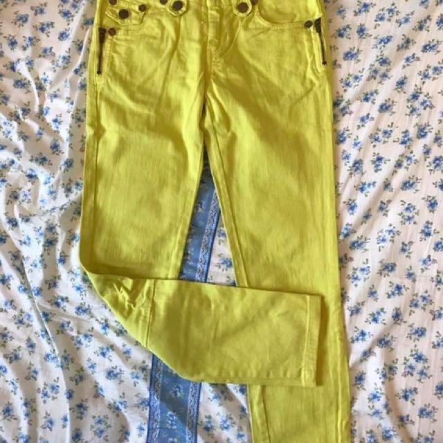 全新2%好搭造型挺版色褲