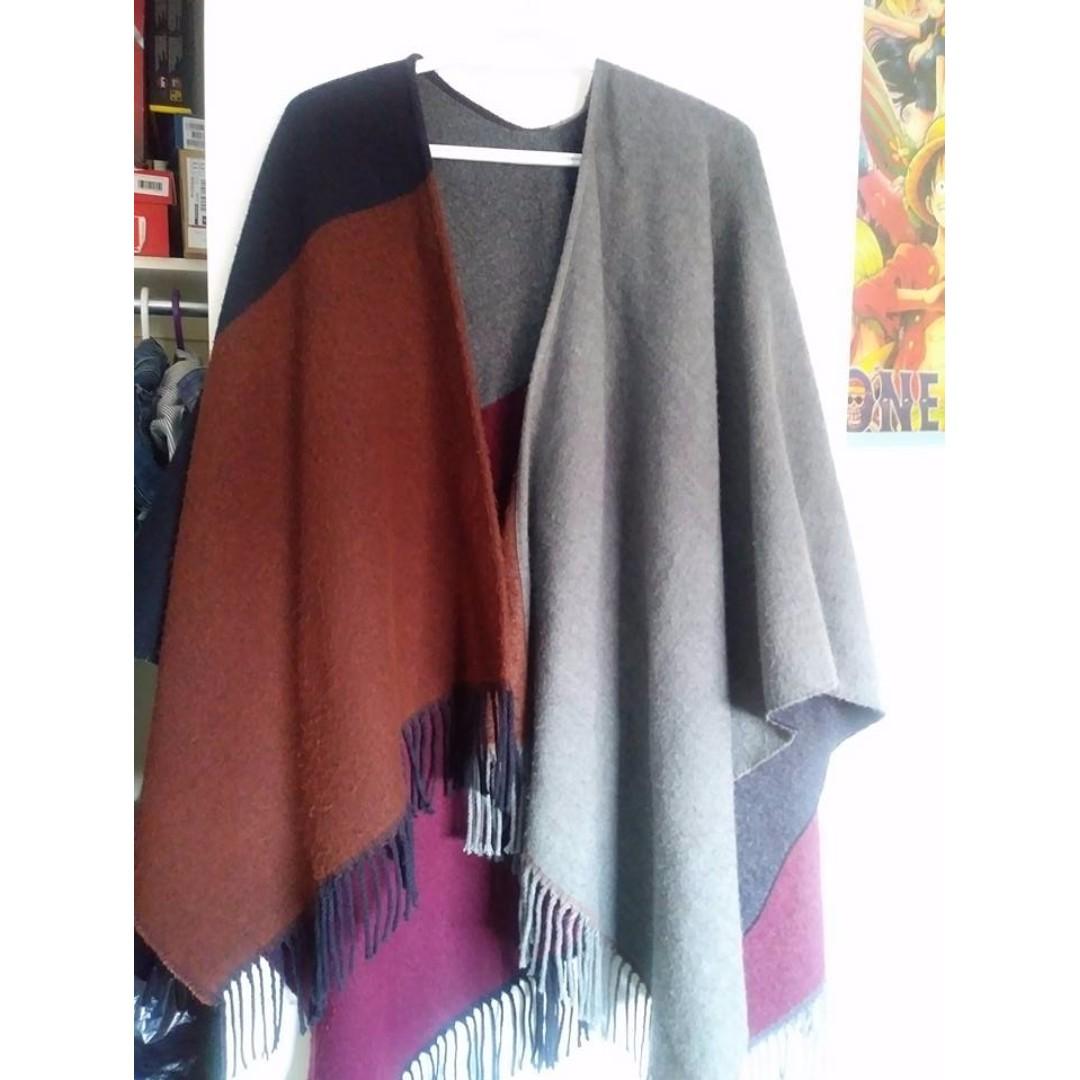 2 Way Stole/Scarf/Pocho Sweater