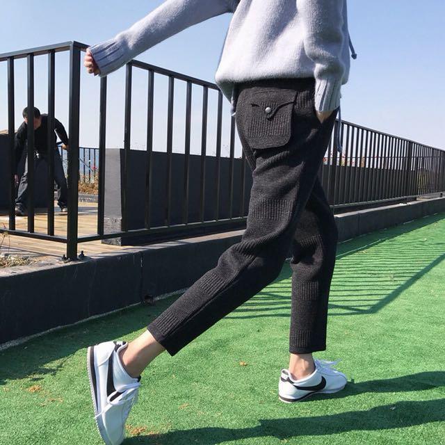 加絨顯瘦哈倫褲(預購)