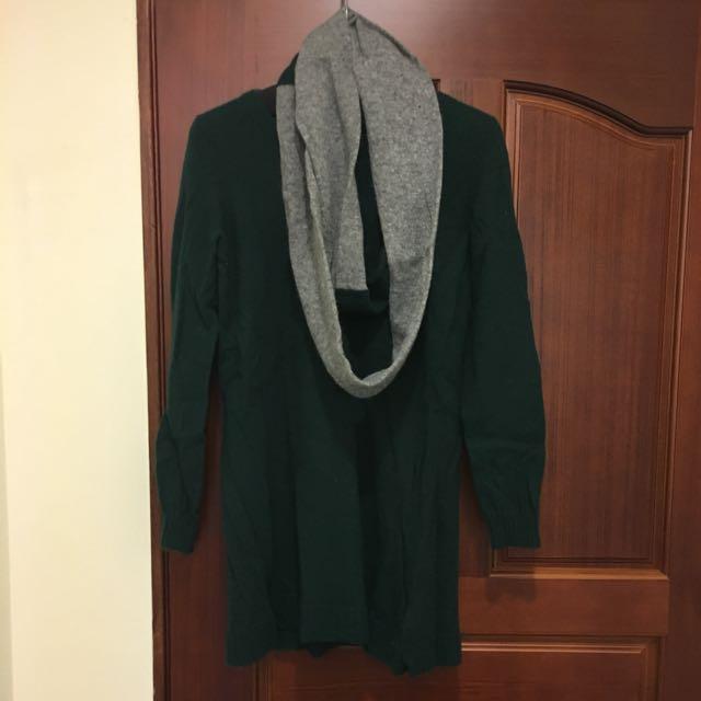 二手長版毛衣