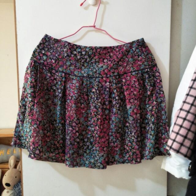 日本製碎花短裙