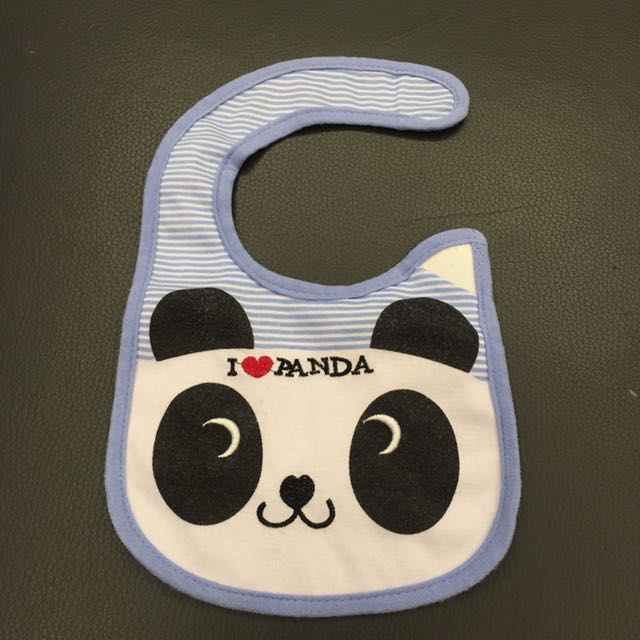 熊貓圍兜 口水巾