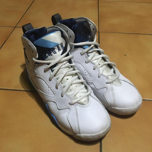 二手 喬丹 7代 法國藍 Jordan Aj7 籃球鞋