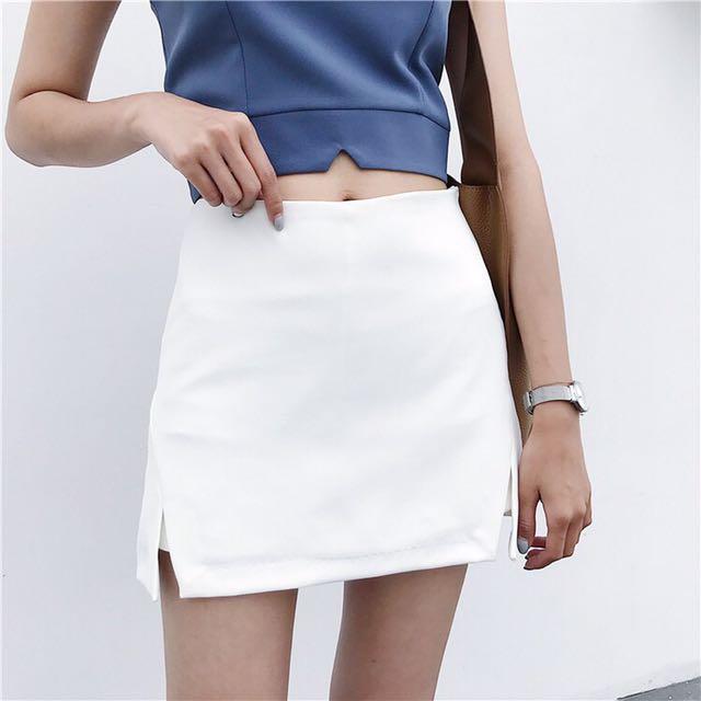 全新 修身褲裙 窄版