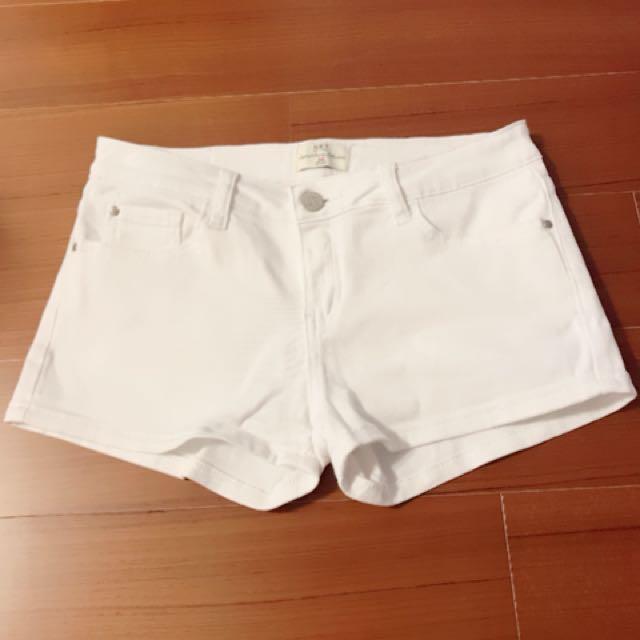 白色 短褲 牛仔短褲 NET