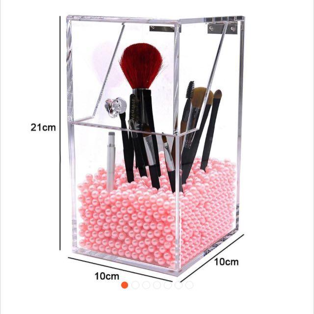 Acrylic Make Up Brush Organizer