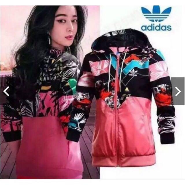 🌹限量Adidas 運動風衣外套,范冰冰同款🌹