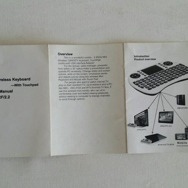 💥All-Must-Go : Wireless Mini Keyboard 🔥