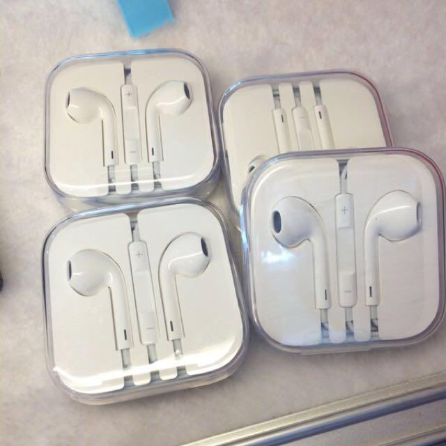 保固ㄧ年Apple  新版全新原廠耳機 iPhone iPad