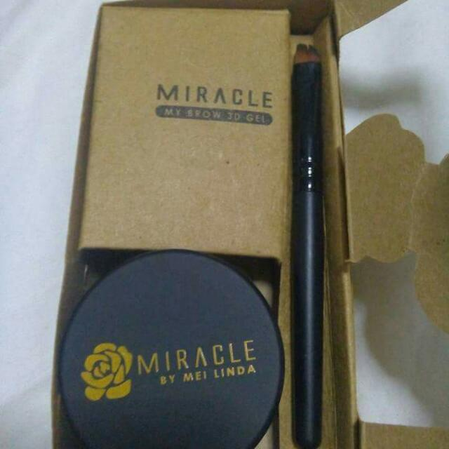 Authentic Miracle Eyebrow Gel