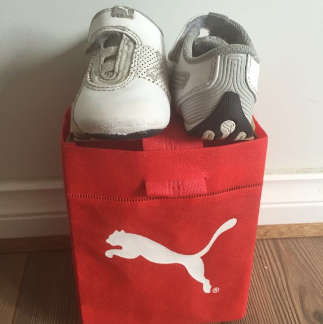 Authentic PUMA Baby Leather Shoes
