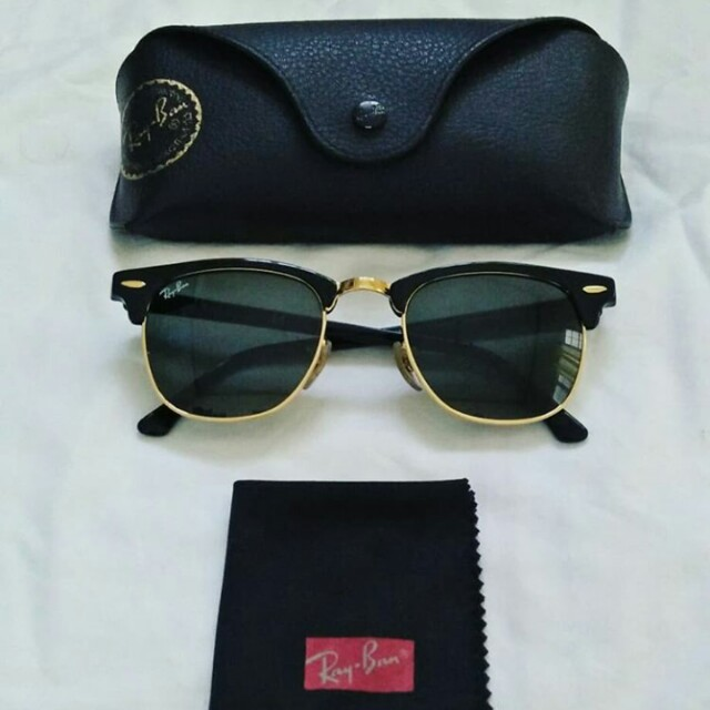 Authentic Rayban Clubmaster