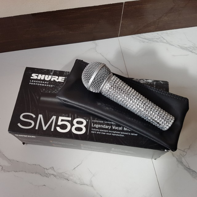 Authentic shure SM58 microphone