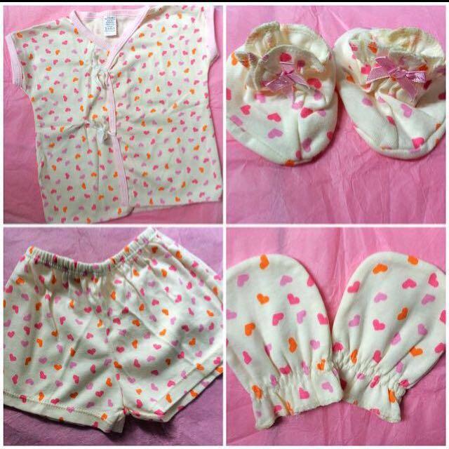 Baby Girls Apparel Set